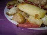 Pečené brambory s růžičkovou kapustou recept
