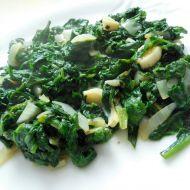 Příloha z čerstvého špenátu recept