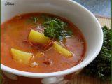 Papriková bramboračka s řapíkatým celerem recept