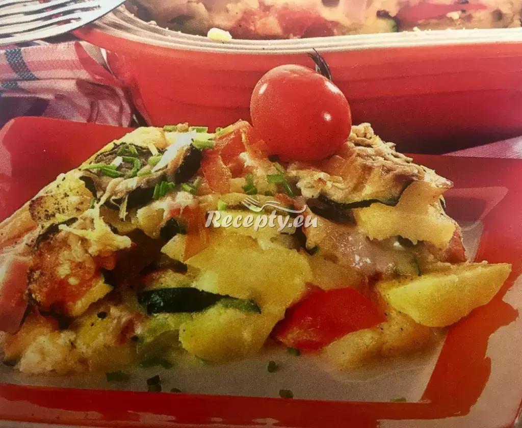 Zapečené brambory se šunkou recept  bramborové pokrmy ...