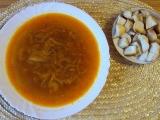 Cibulová polévka s česnekem recept
