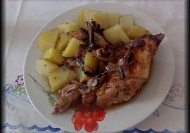 Pečené kuře se žampiony recept