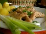Krůtí nudličky s bylinkami a smetanou recept