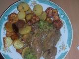 Vepřová kýta s brokolicí recept