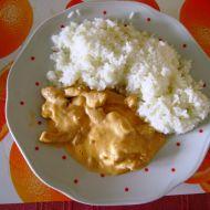Kuřecí nudličky se šlehačkou recept