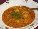 Fazolová polévka s bylinkami recept