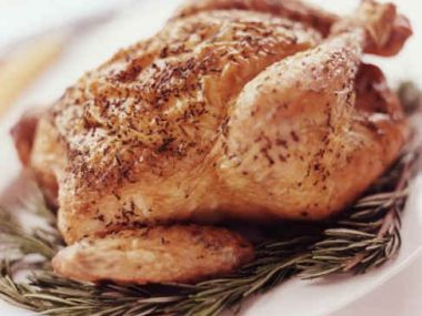 Kuře v alobalu