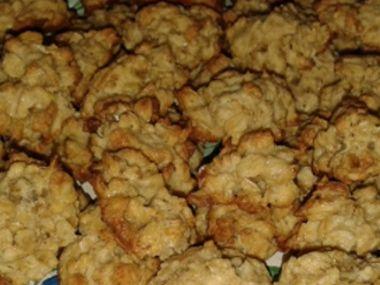 Vločkové dia sušenky