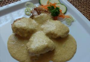 Kuře v zeleninové omáčce II.