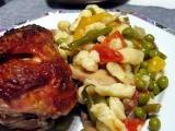Zeleninové kuře s noky recept