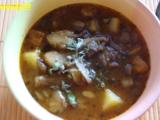 Pikantní gulášovka z hlívy ústřičné recept