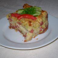 Slaný cuketový pekáč recept