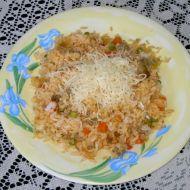Rizoto s vepřovým masem a zeleninou recept