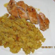Plněný kuřecí plátek s nivou recept