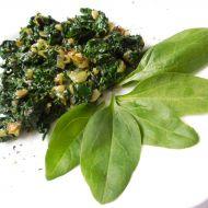 Výborný špenát z čerstvých listů recept