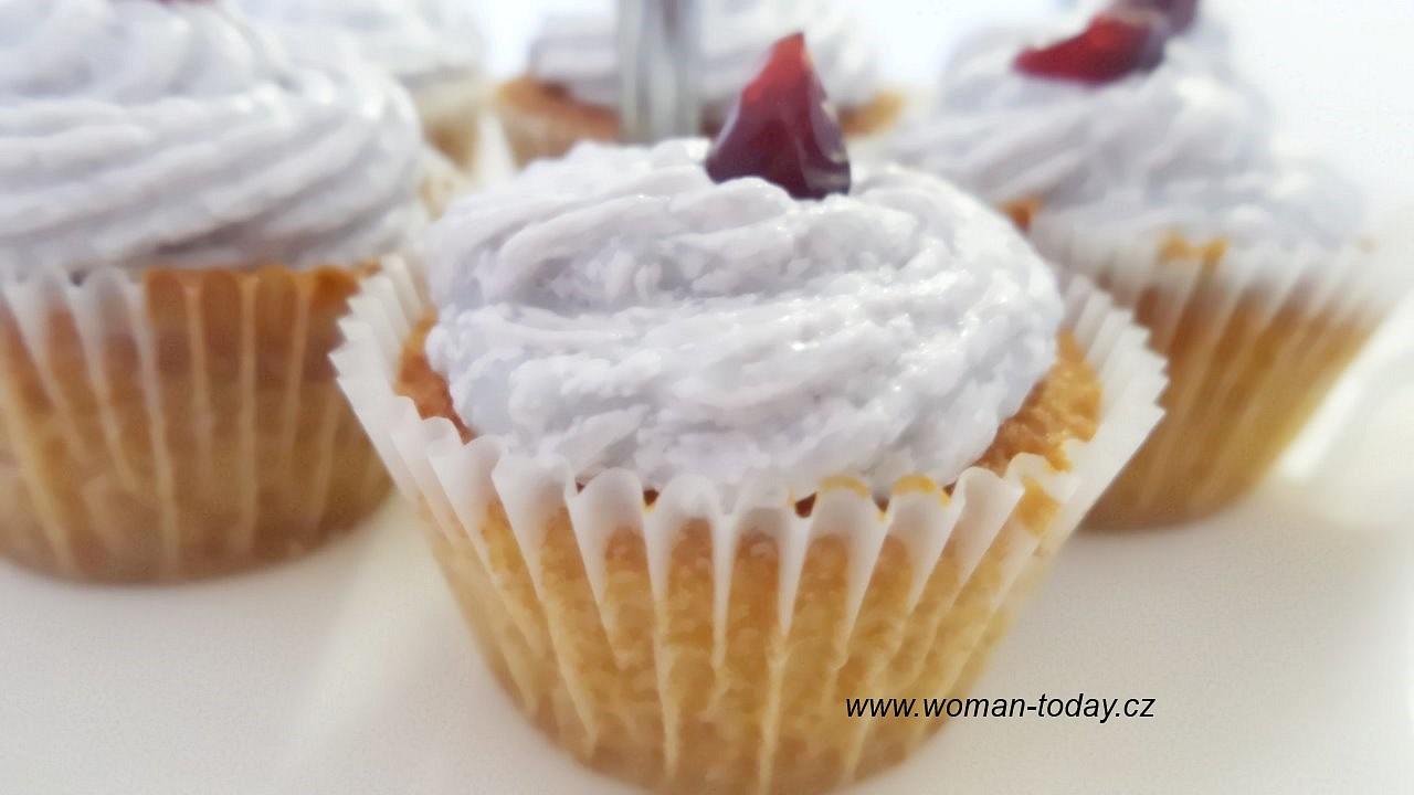 Levandulové cupcakes recept