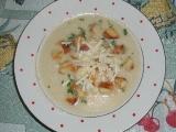Celerová polévka s Nivou recept