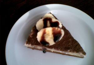 Banánová bleskovka  dort