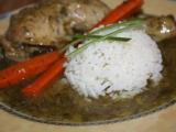 Kuřecí stehýnka v koprové omáčce recept