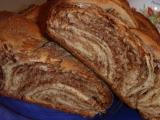Čokoládový vrstvený pletenec recept