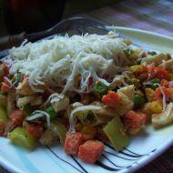 Teplý vajíčkový salát recept