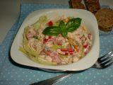 Letní kuřecí salát s bazalkovou vůní recept