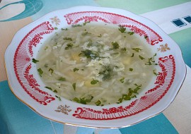 Kedlubnová polévka recept