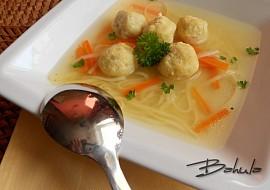 Knedlíčky do polévky z míchaných vajec  kořeněné recept ...