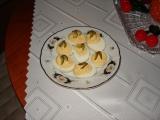 Jednoduchá zdobená vejce recept
