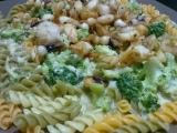 Kalamáry v bešamelové omáčce s brokolicí recept