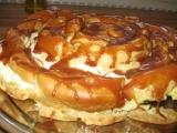 Větrníkový dort recept