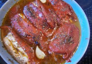 Řecké papriky plněné fetou
