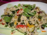 Pečená zelenina s kuskusem recept