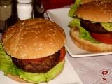 Americký hamburger recept
