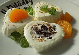 Mražený tvarohový krém s jogurtem a čokoládou recept ...