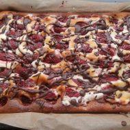 Tvarohovo-ovocný koláč recept