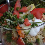 Zeleninový salát s kuskusem recept