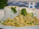 Rychlé kuře na kari recept