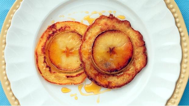 Jablečné lívance s ricottou