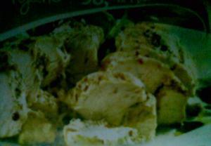 Kuřecí prsa s chilli-arašídovou omáčkou