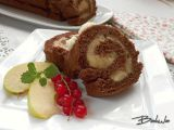 Jablková roláda recept