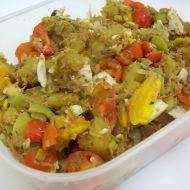 Brambory s míchanou zeleninou a vejci recept