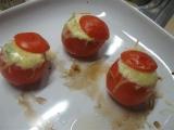 Plněná rajčata s cottagge recept