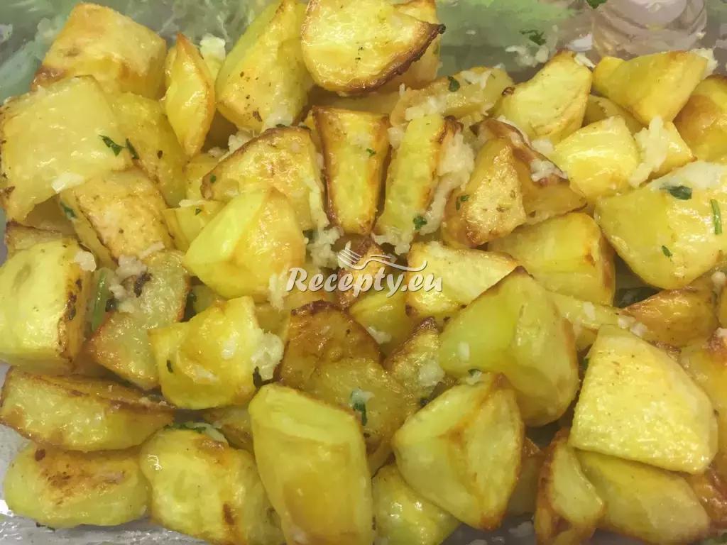 Pečené brambory s pórkem recept  bramborové pokrmy