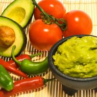 Rajčatové guacamole recept