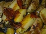 Rychlé slaninové brambory recept
