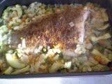 Kadlíkův kapřík na zelenině recept