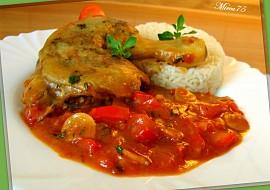 Rajčatová kuřecí stehna s bylinkami  parní hrnec recept ...