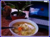 Třízeleninová polévka recept