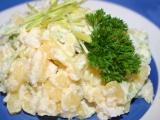 Bramborový salát s vejci a křenem recept